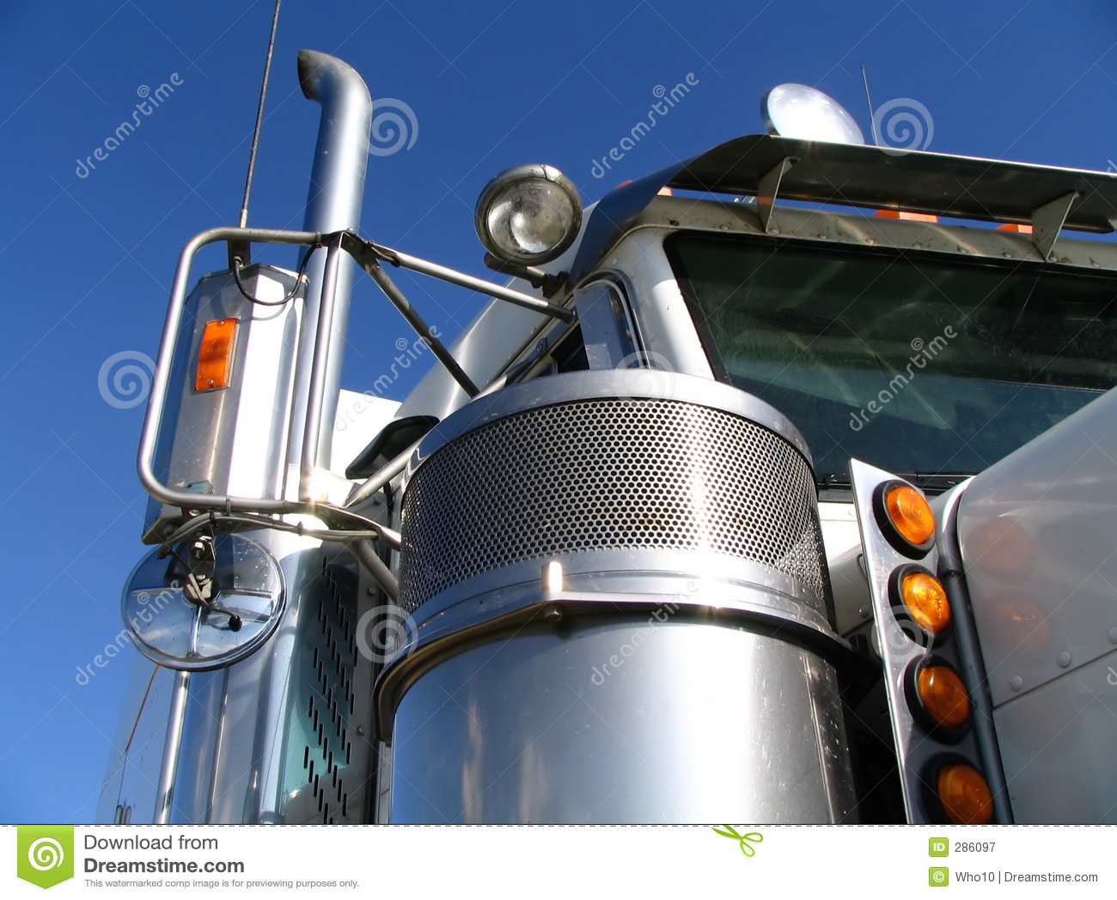 Witte Vrachtwagen 2
