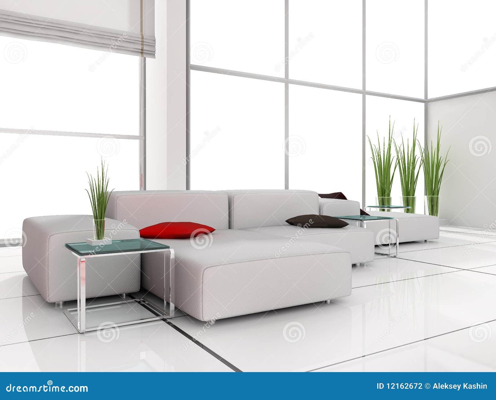 witte woonkamer stock fotografie afbeelding 12162672 ForModern Woonkamerbeeld