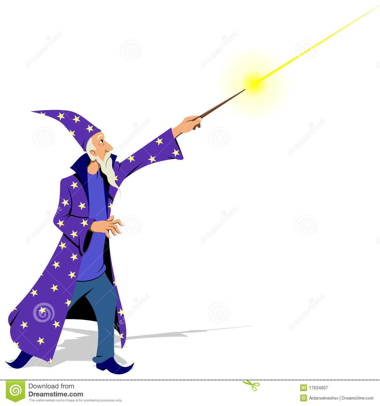 Wizard Royalty Free Stock Photography - Image: 17634007