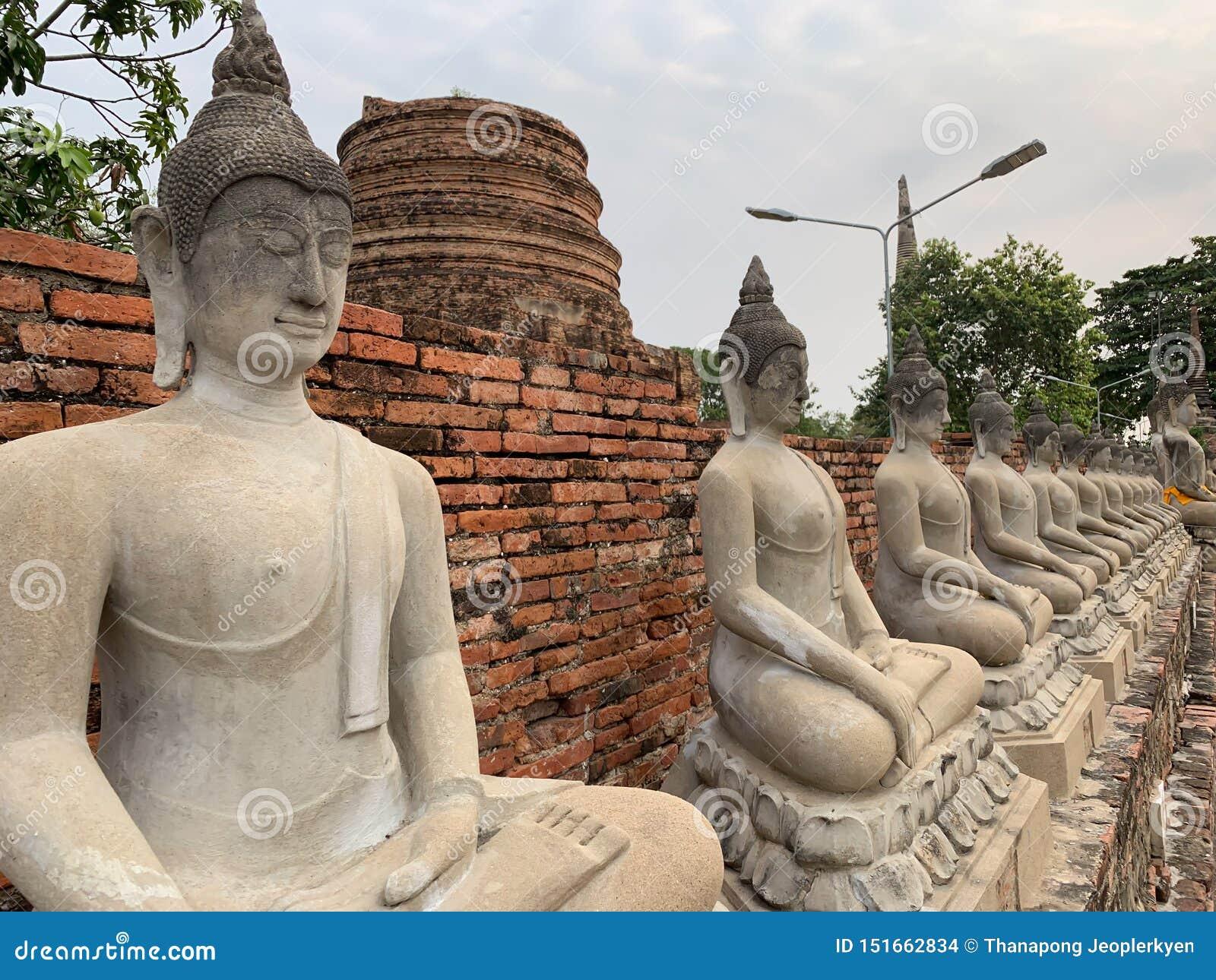 Wizerunek Buddha tło