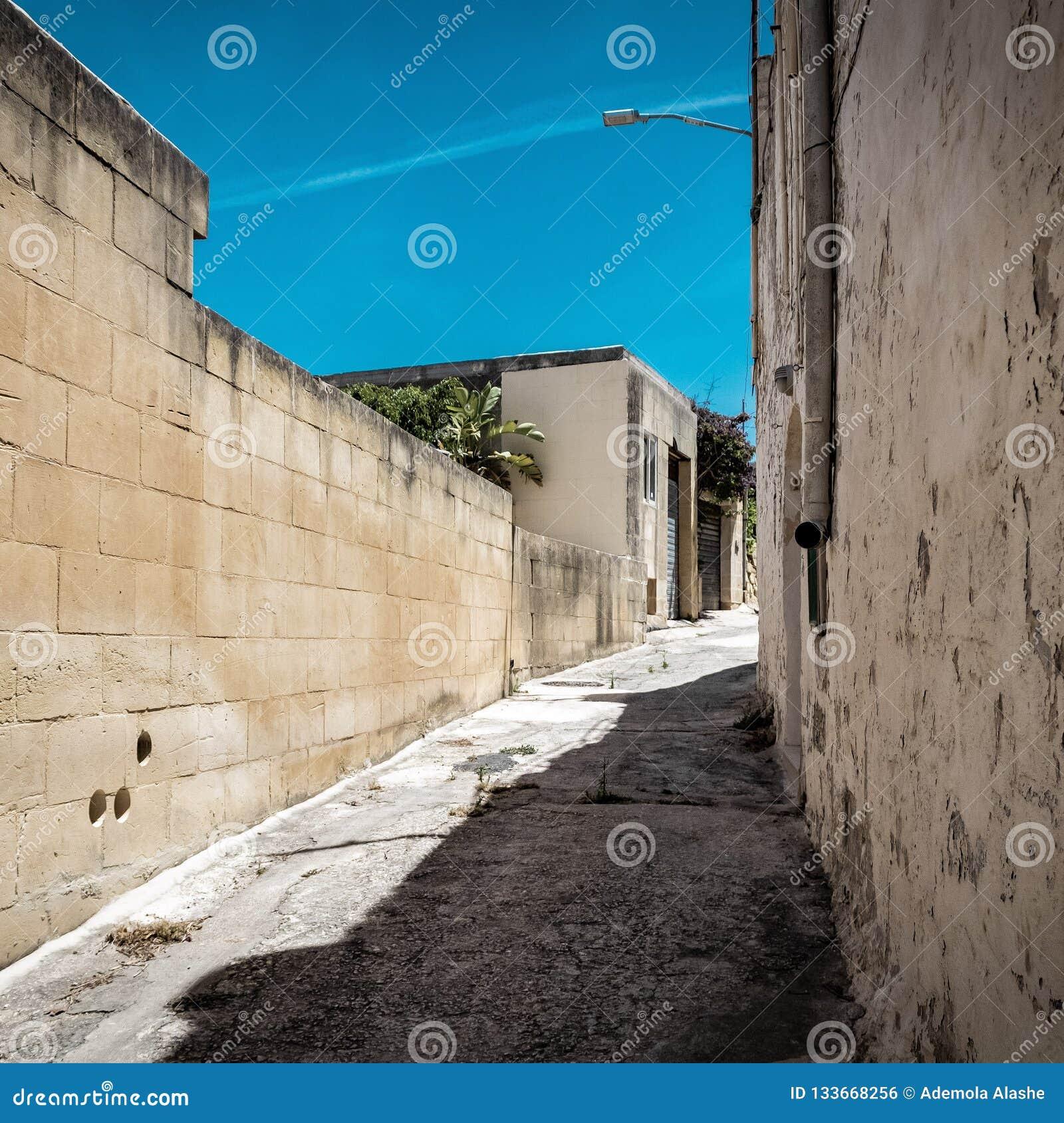 Wizerunek piękna Malta ulica