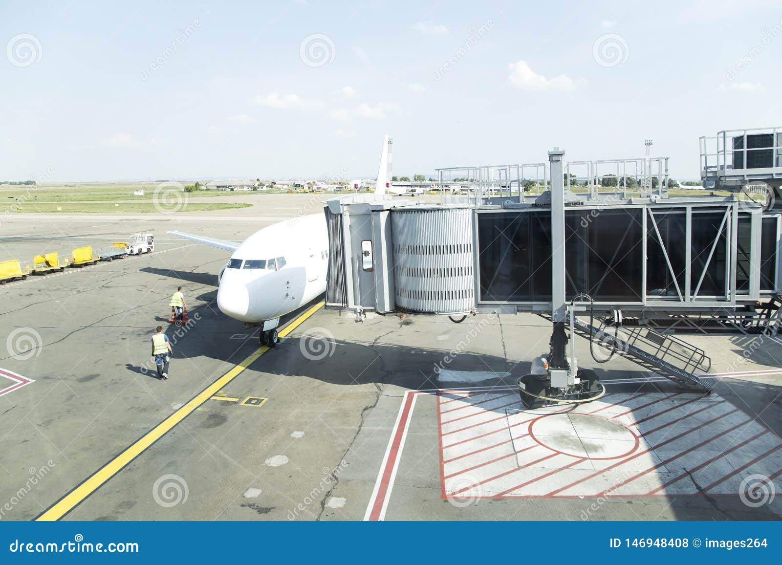 Wizerunku samolotowy lotniskowy infrared