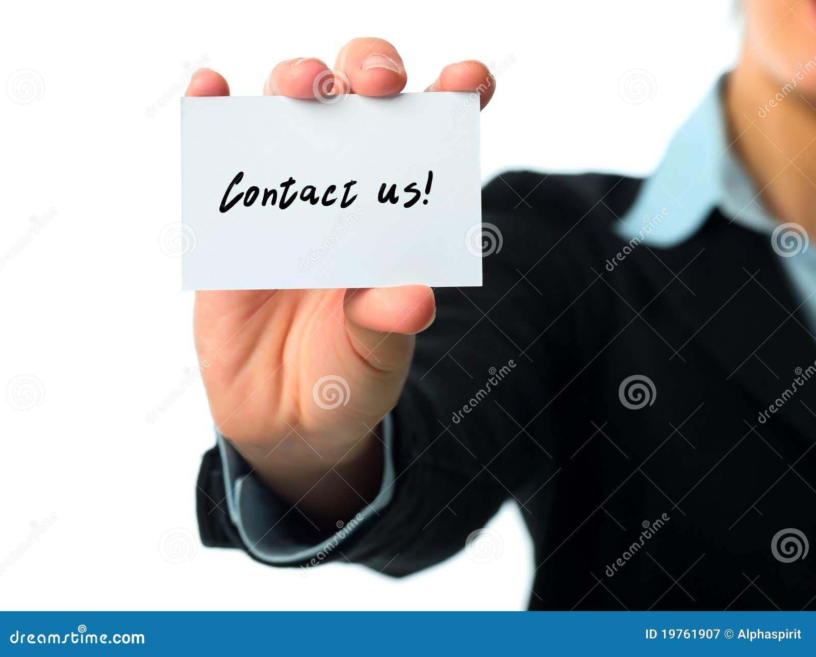 Wizytówka kontakt my