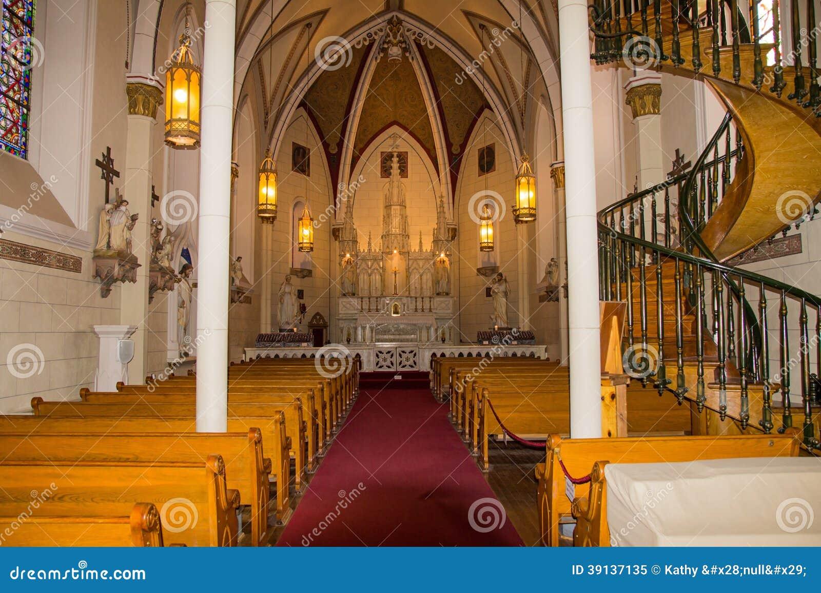 Wnętrze Loretańska kaplica