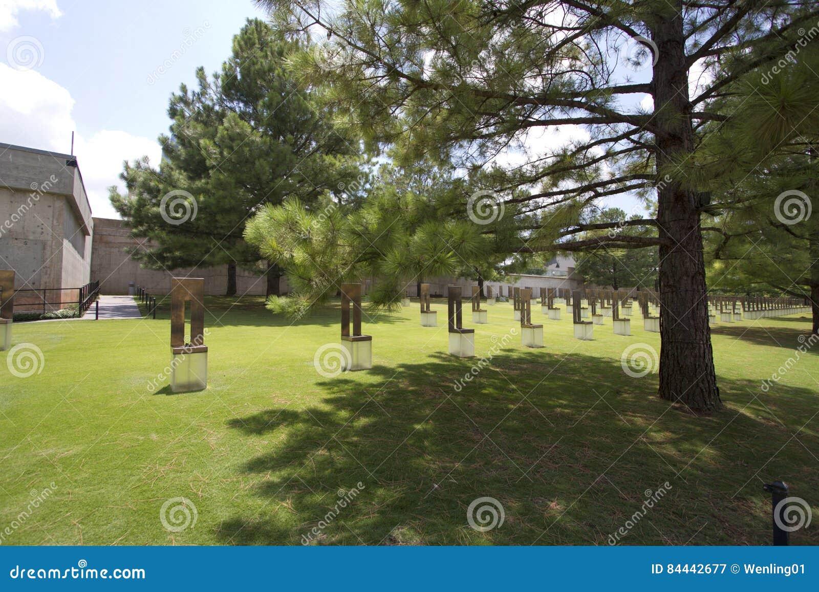 Wnętrze Oklahoma miasta obywatela pomnik