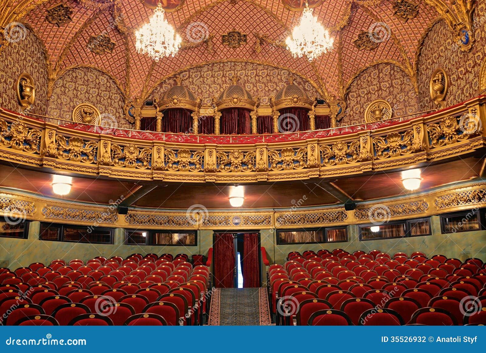 Wnętrze theatre