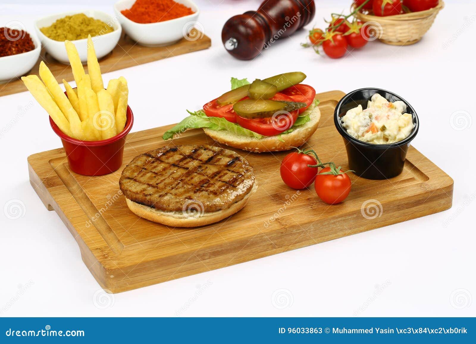 Wołowina hamburger