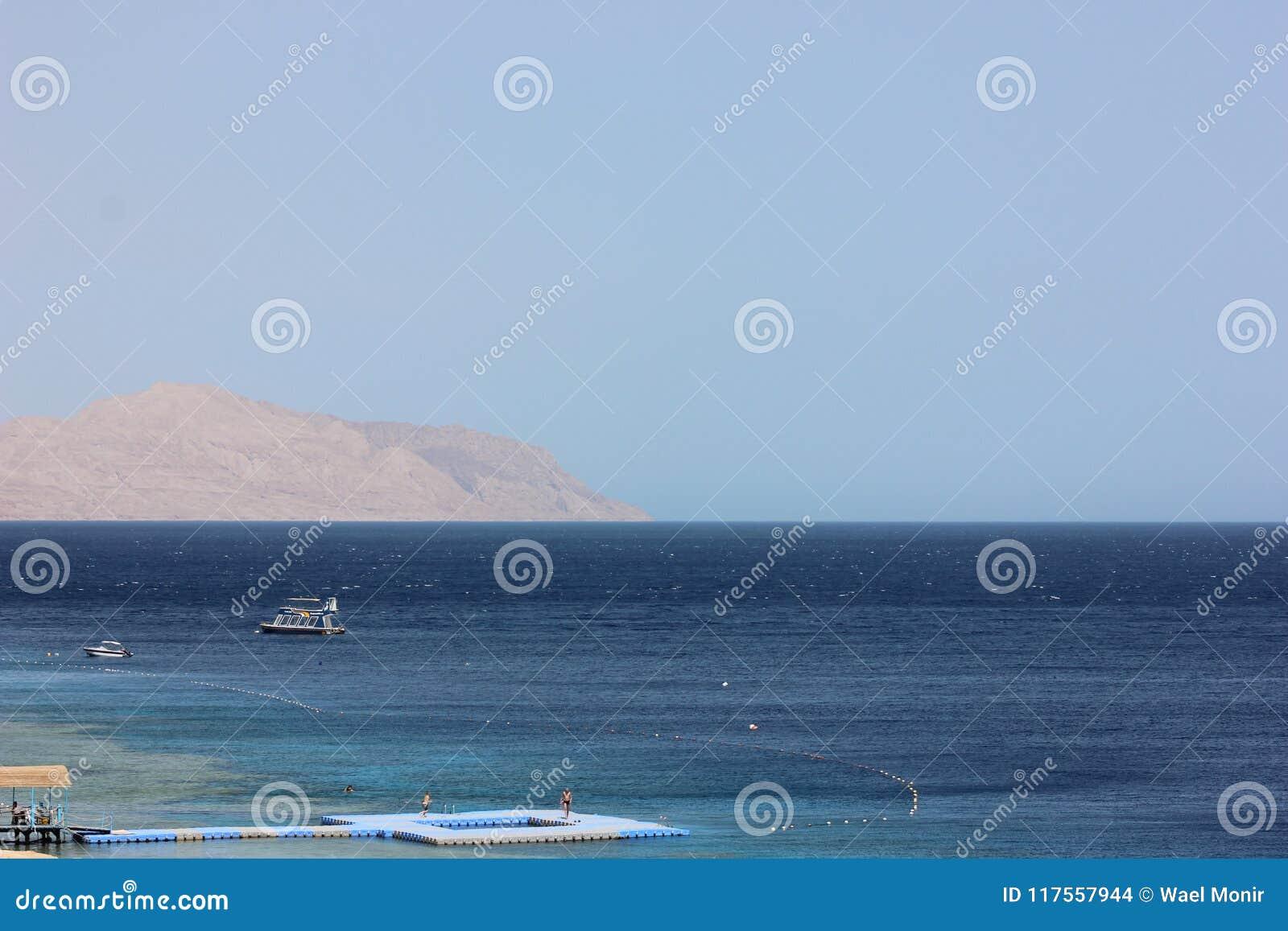 Woda morska w sharm el sheikh