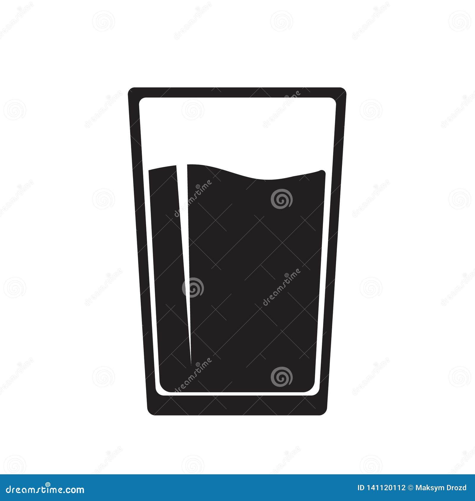 Wodnego szkła ikona