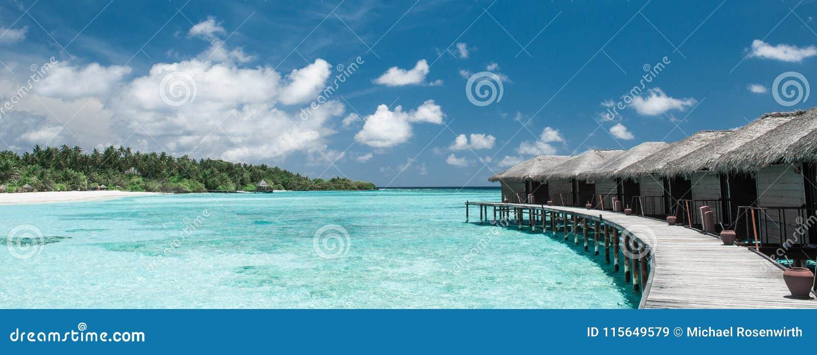 Wodni bungalowy na Maldives