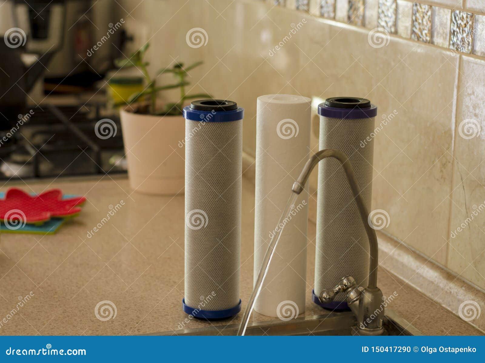 Wodnych filtrów czystej wody kulinarna woda