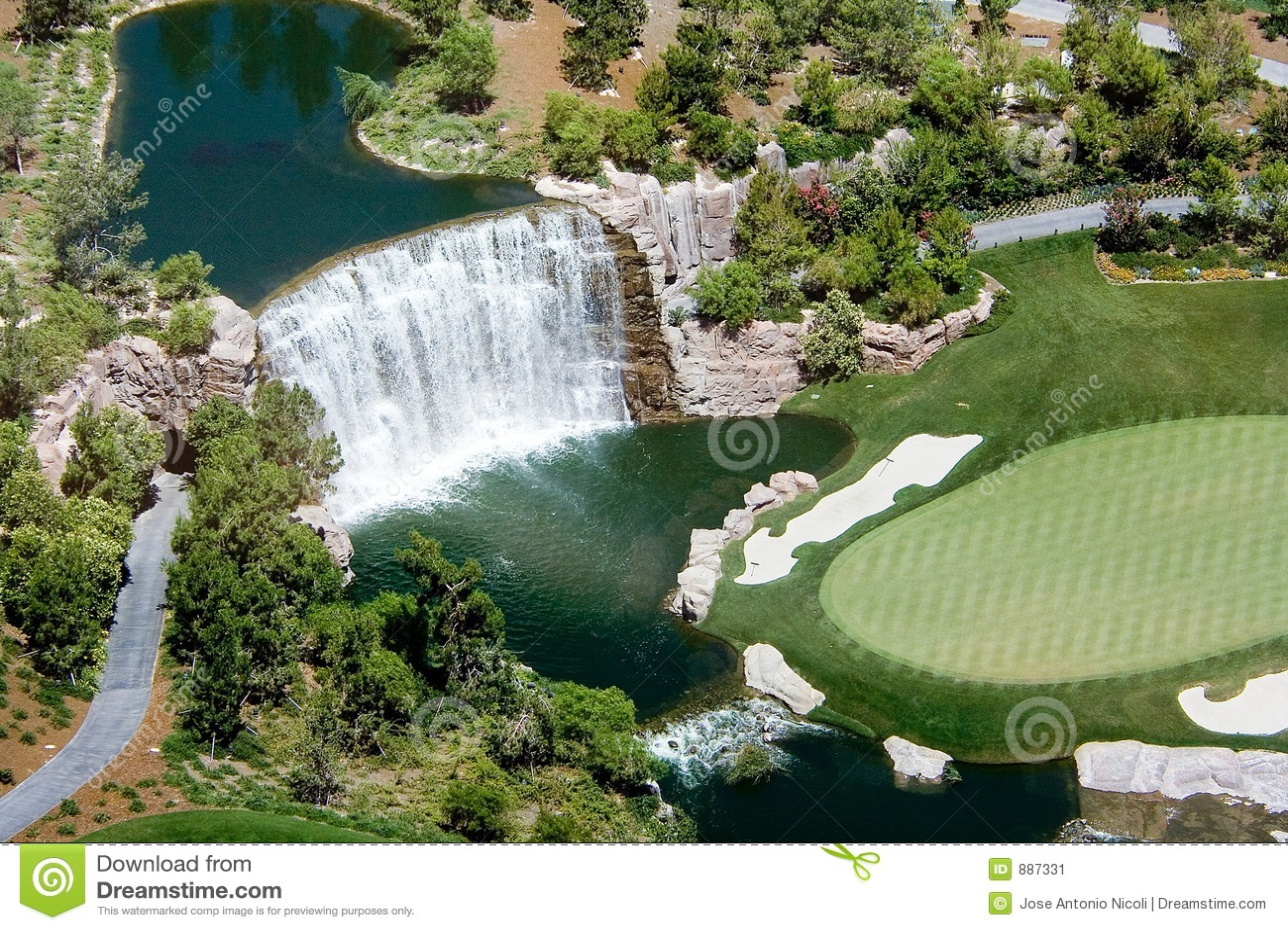 Wodospad golfowa