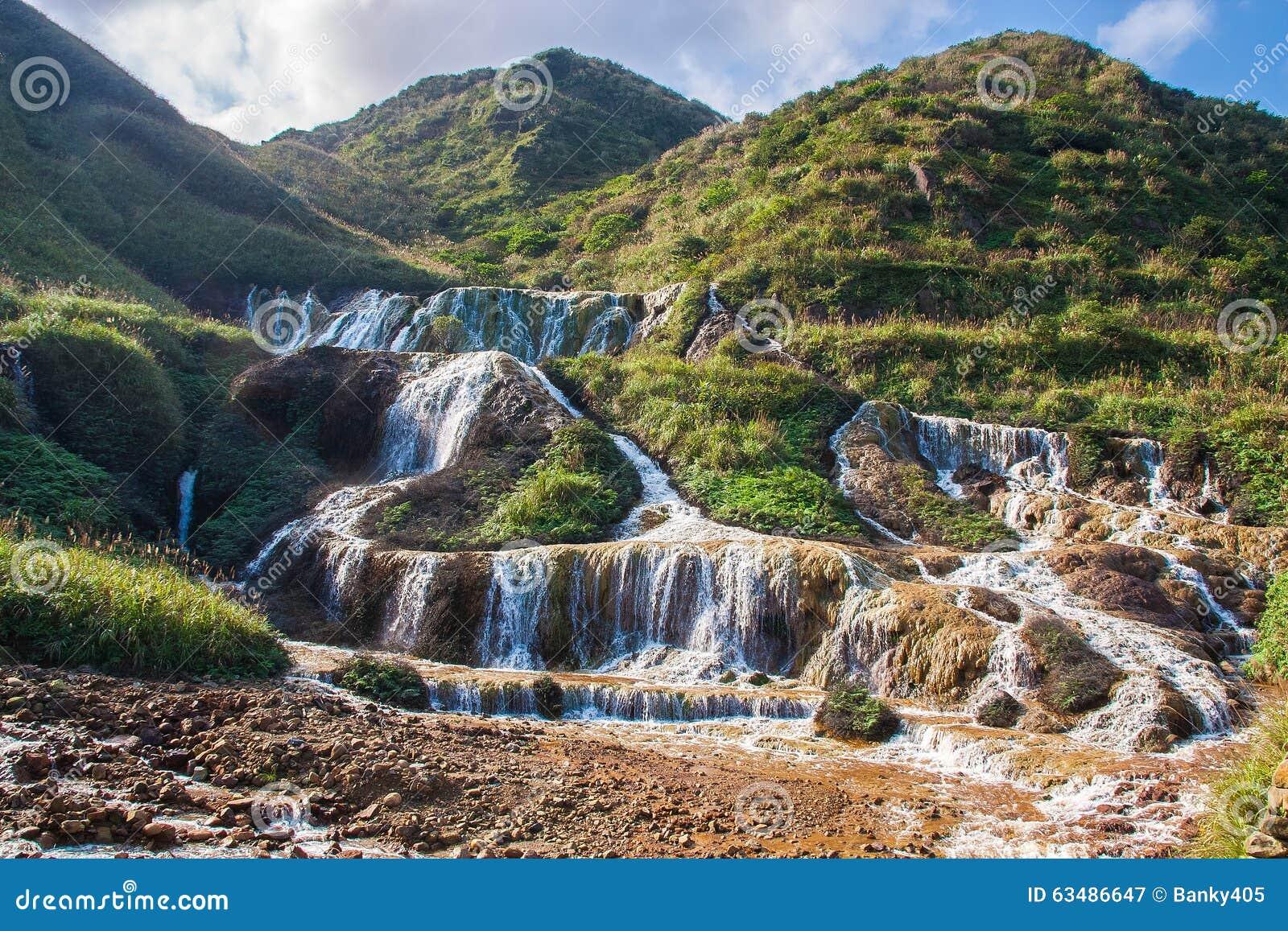 Wodospad złota