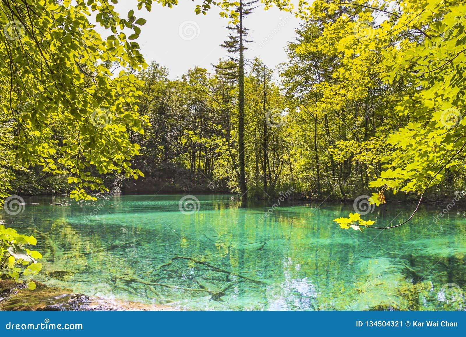 Wody Obniżać jeziora