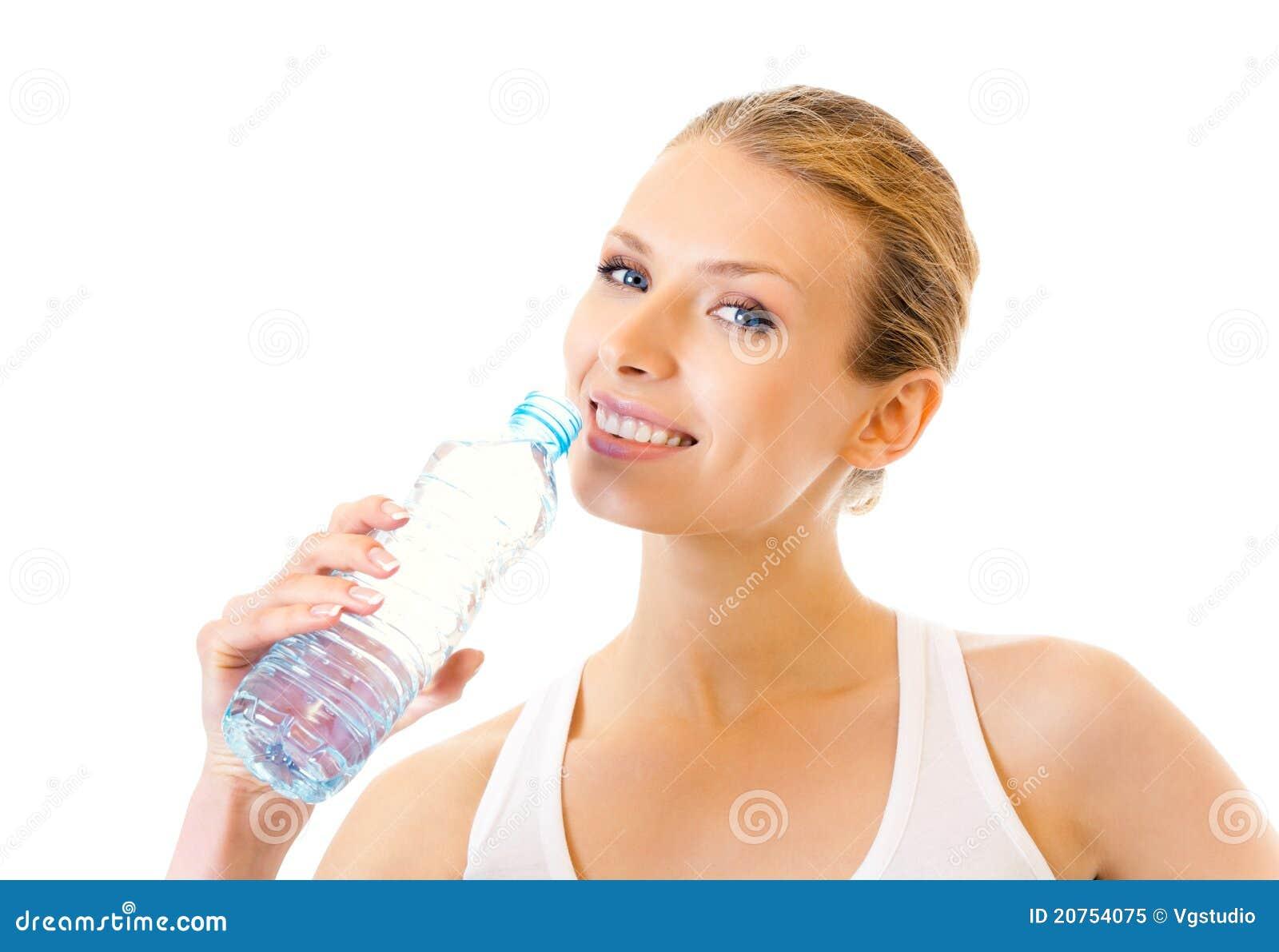 Wody pitnej kobieta