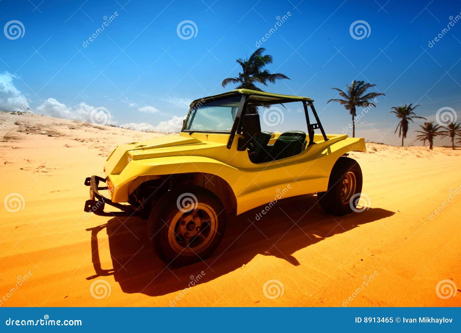 Woestijn met fouten