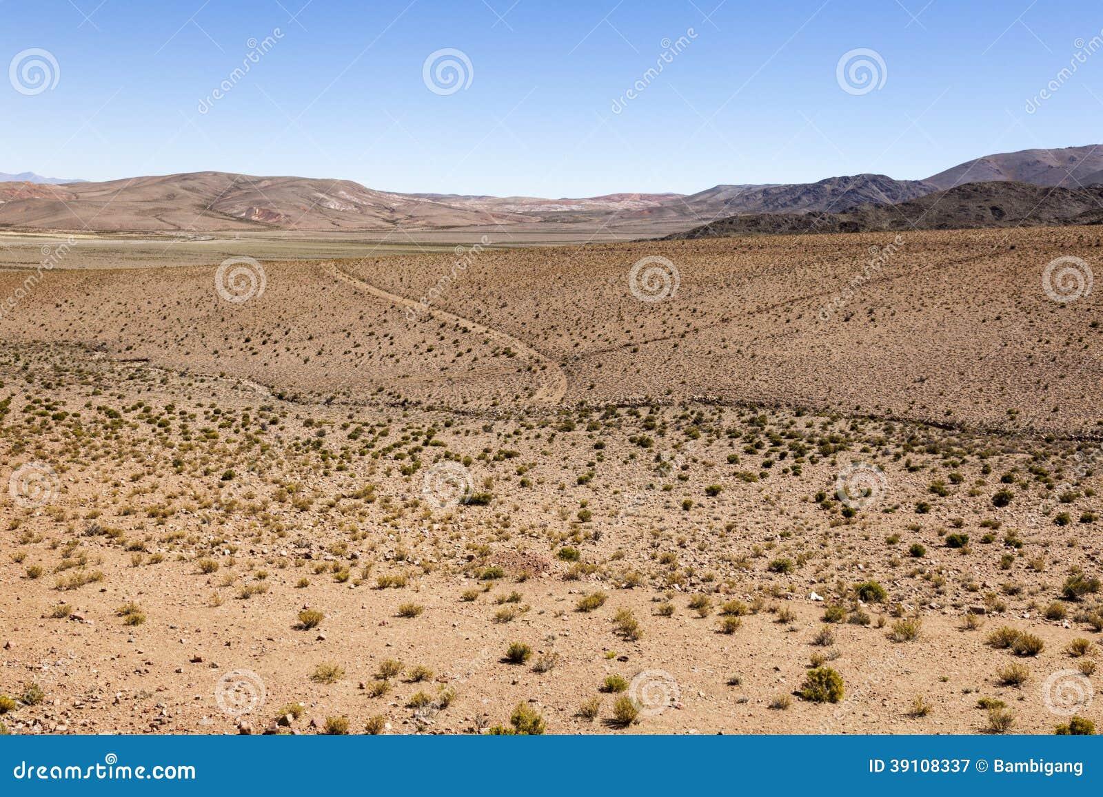 Woestijn Toneel