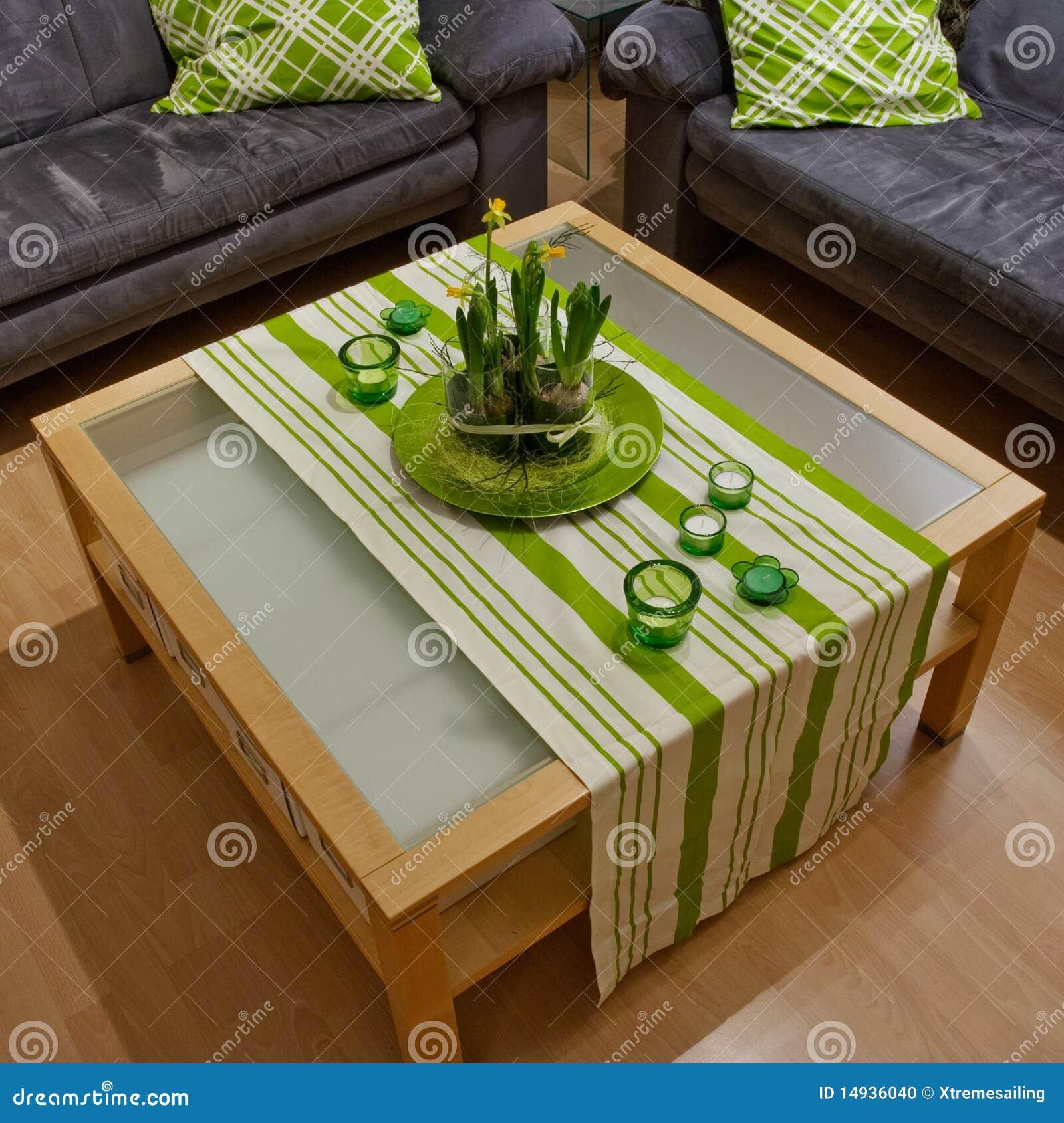 Wohnzimmer-Dekoration stockfoto. Bild von pfosten, auslegung - 14936040