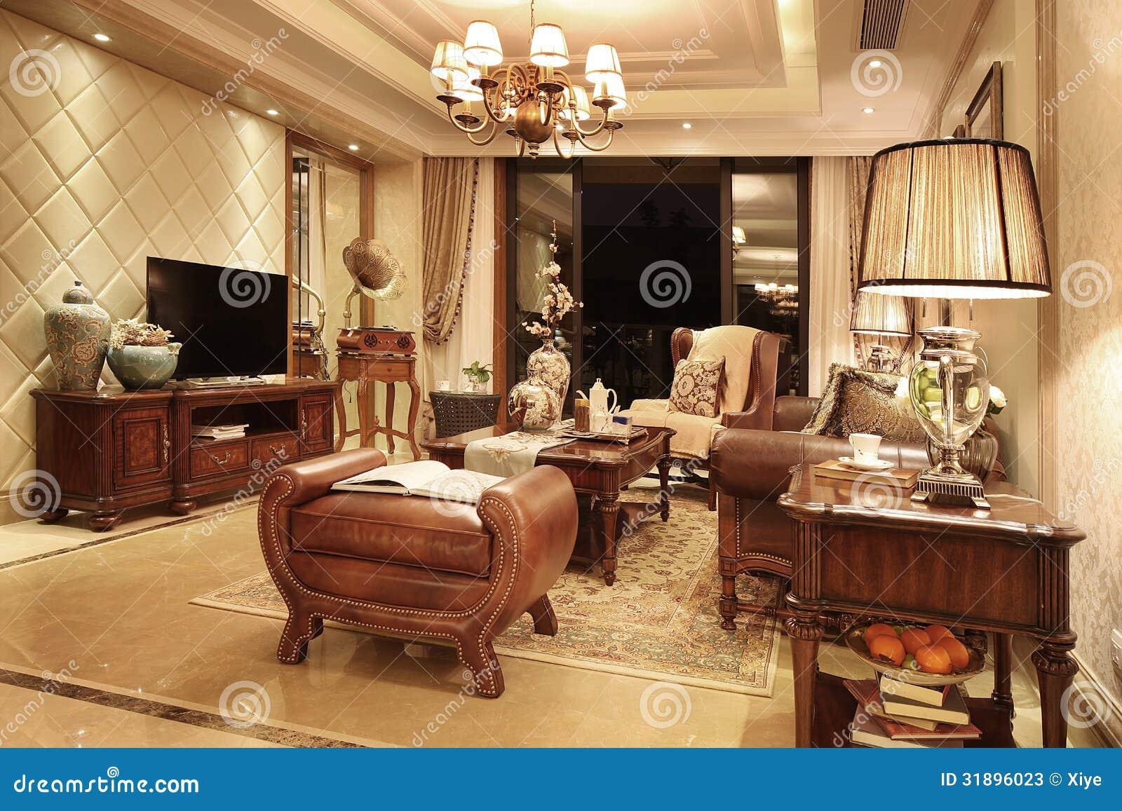 Wohnzimmer klassisch stockbild bild von europa geb ude for Wohnzimmer klassisch
