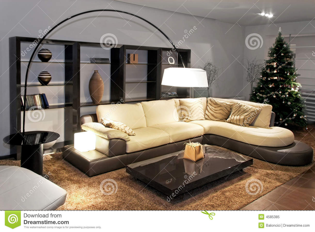 wohnzimmer modern lizenzfreies stockfoto bild 4585385. Black Bedroom Furniture Sets. Home Design Ideas