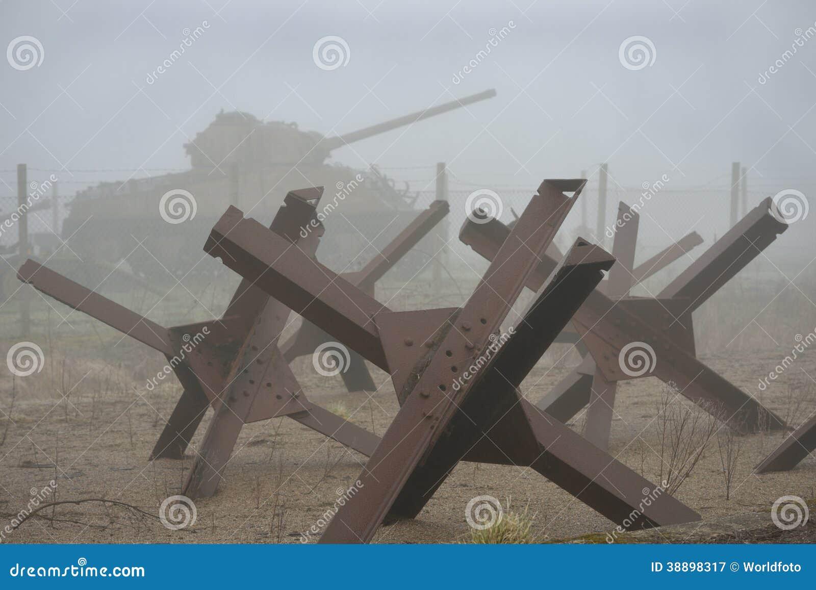 Wojna światowa dwa cysternowa i oklepowie