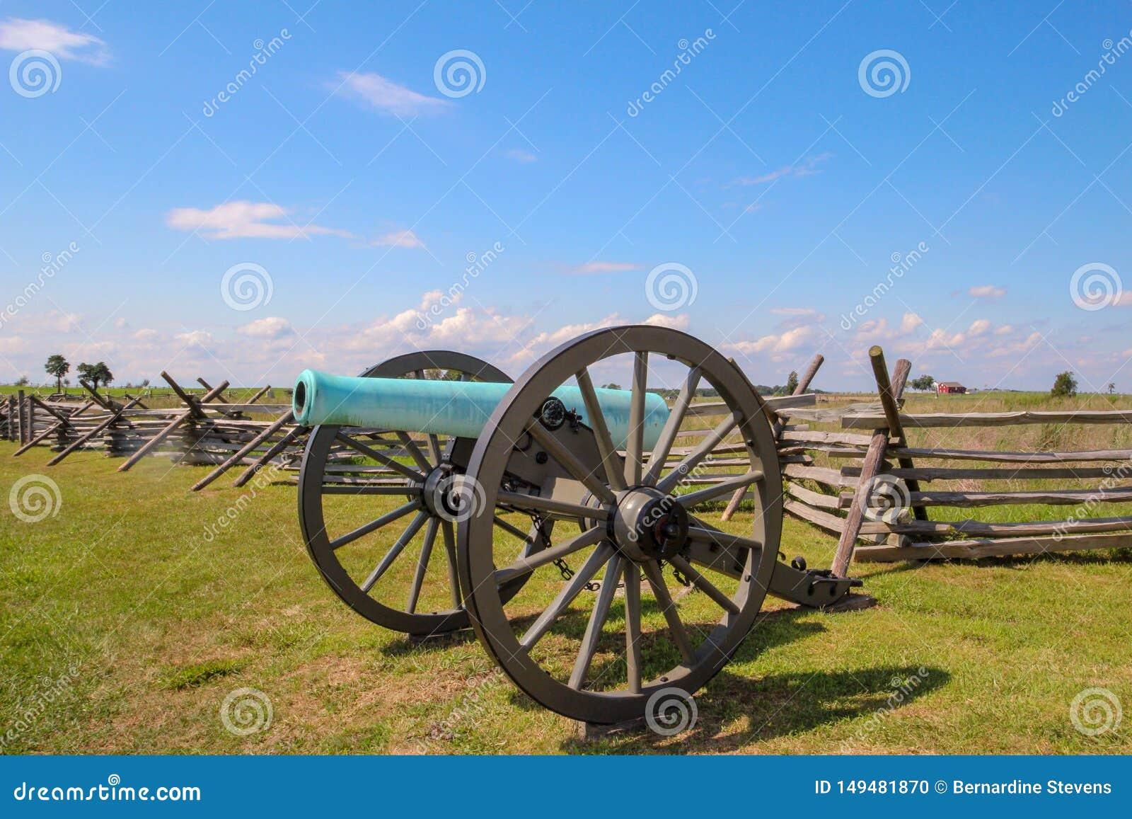 Wojny Domowej działo w Gettysburg, Pennsylwania