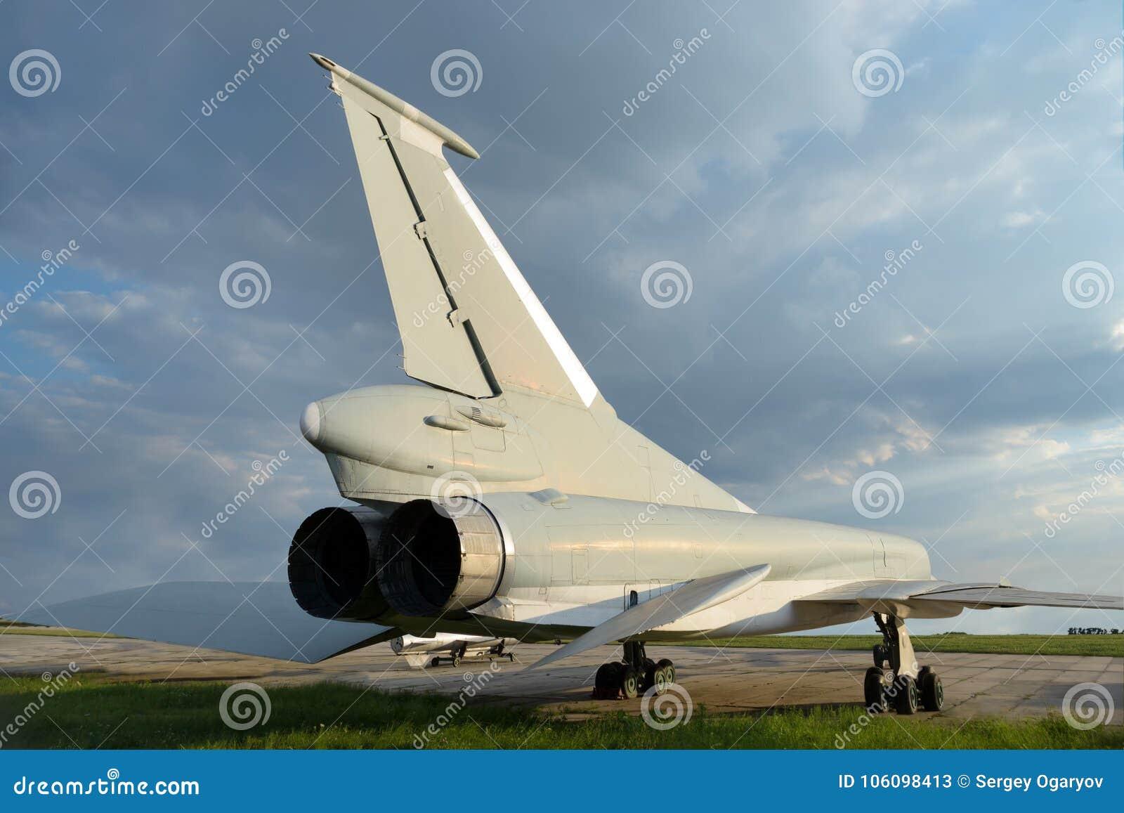 Wojskowego dżetowy naddźwiękowy samolot
