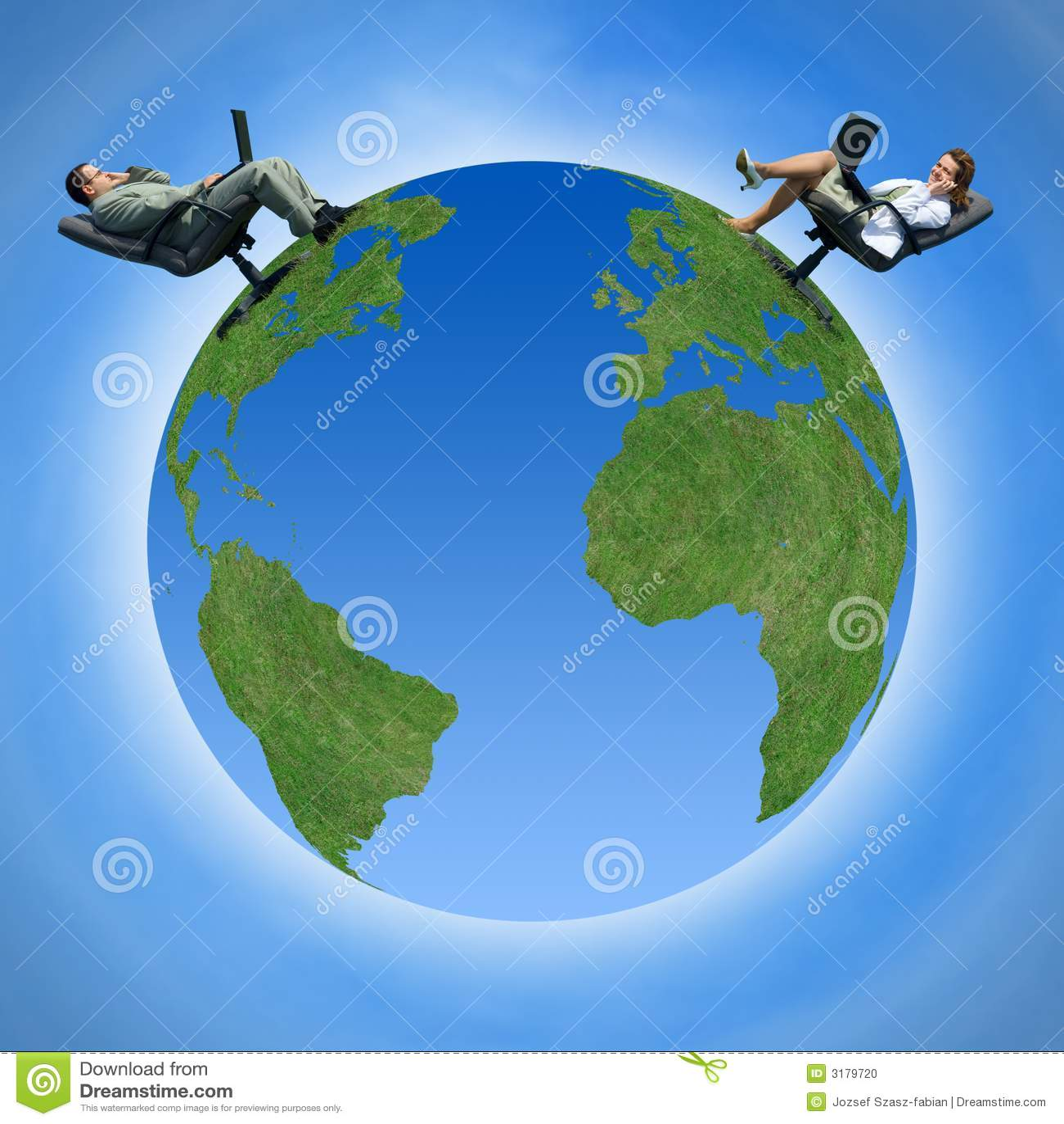 Wokół całego świata komunikacji