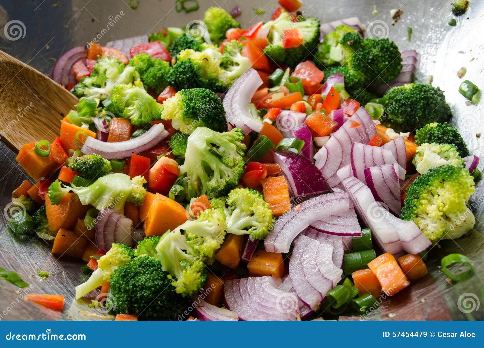 Woka veggies