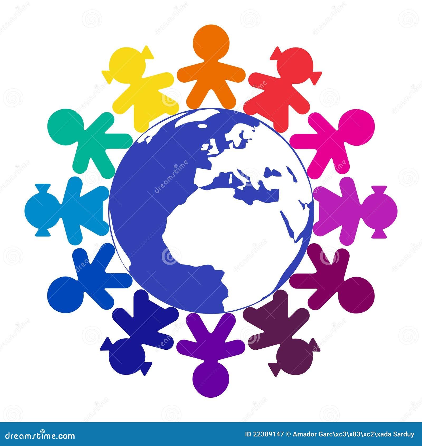 Wokoło dzieci światowych