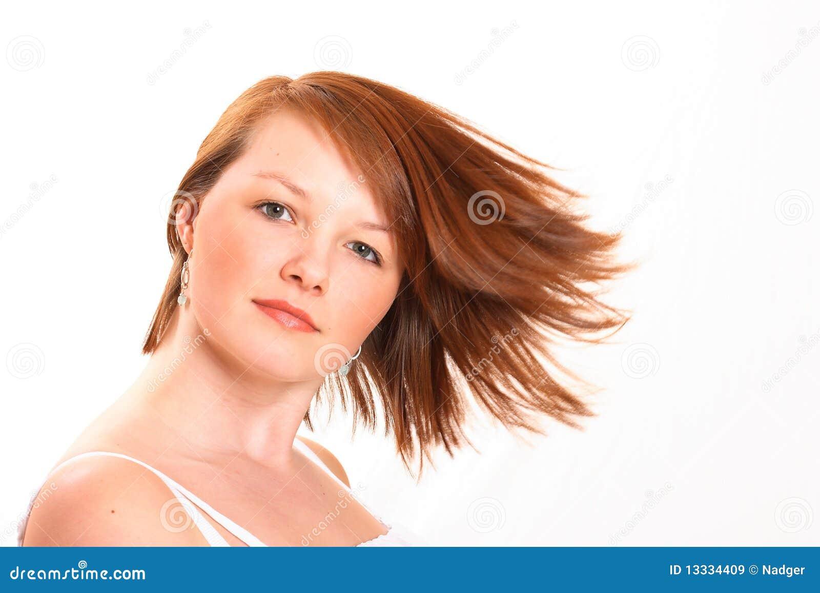 Wokoło zamazany dziewczyny włosy dosyć nastoletni