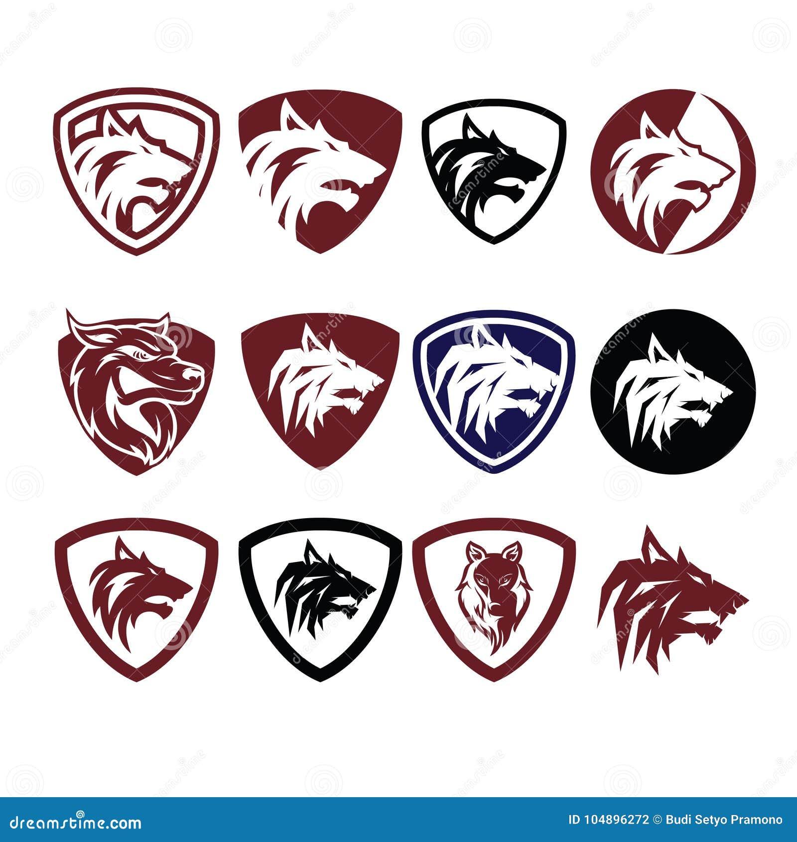Wolf Icon Logo Vector