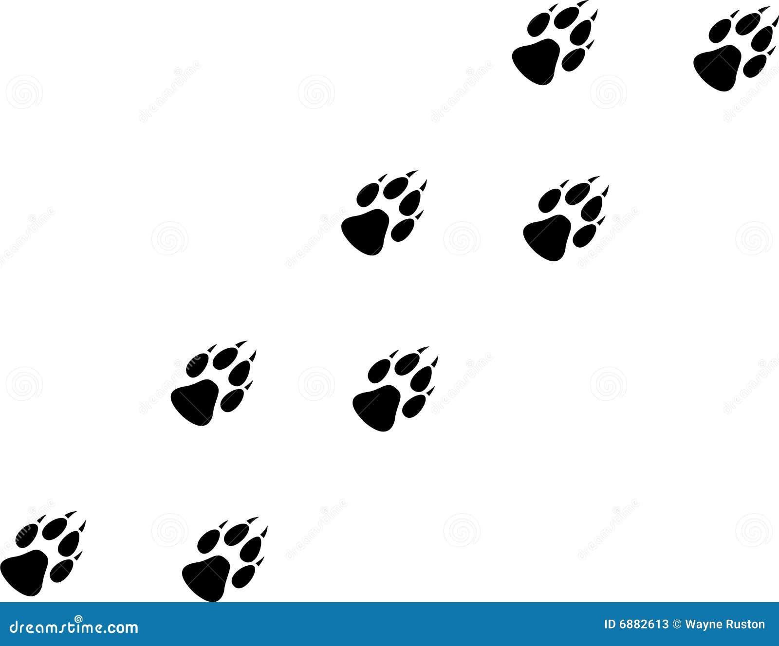 Wolf Print Stock Photos - Image: 6882613