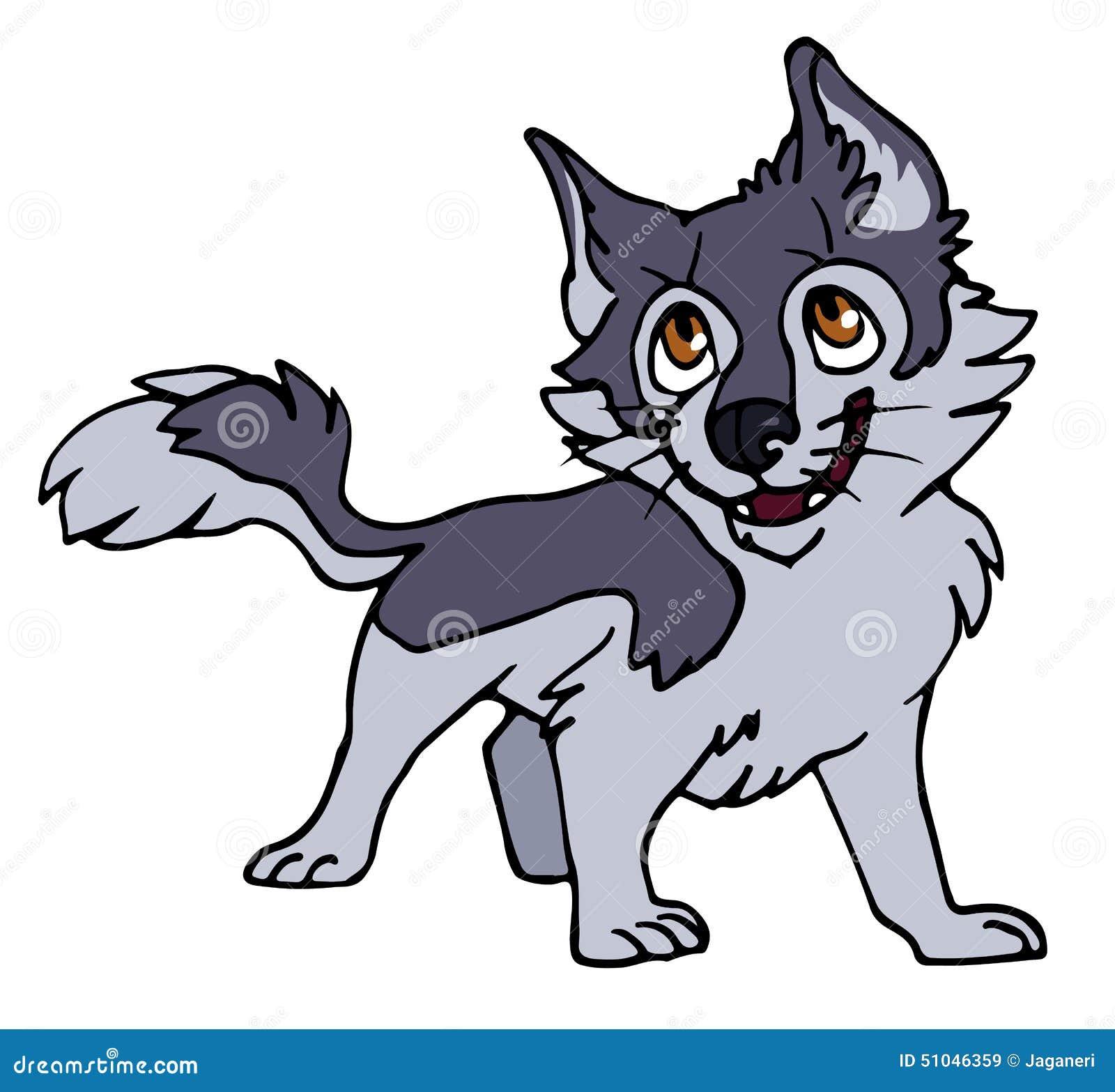 Pin Cartoon-wolf-puppies on Pinterest