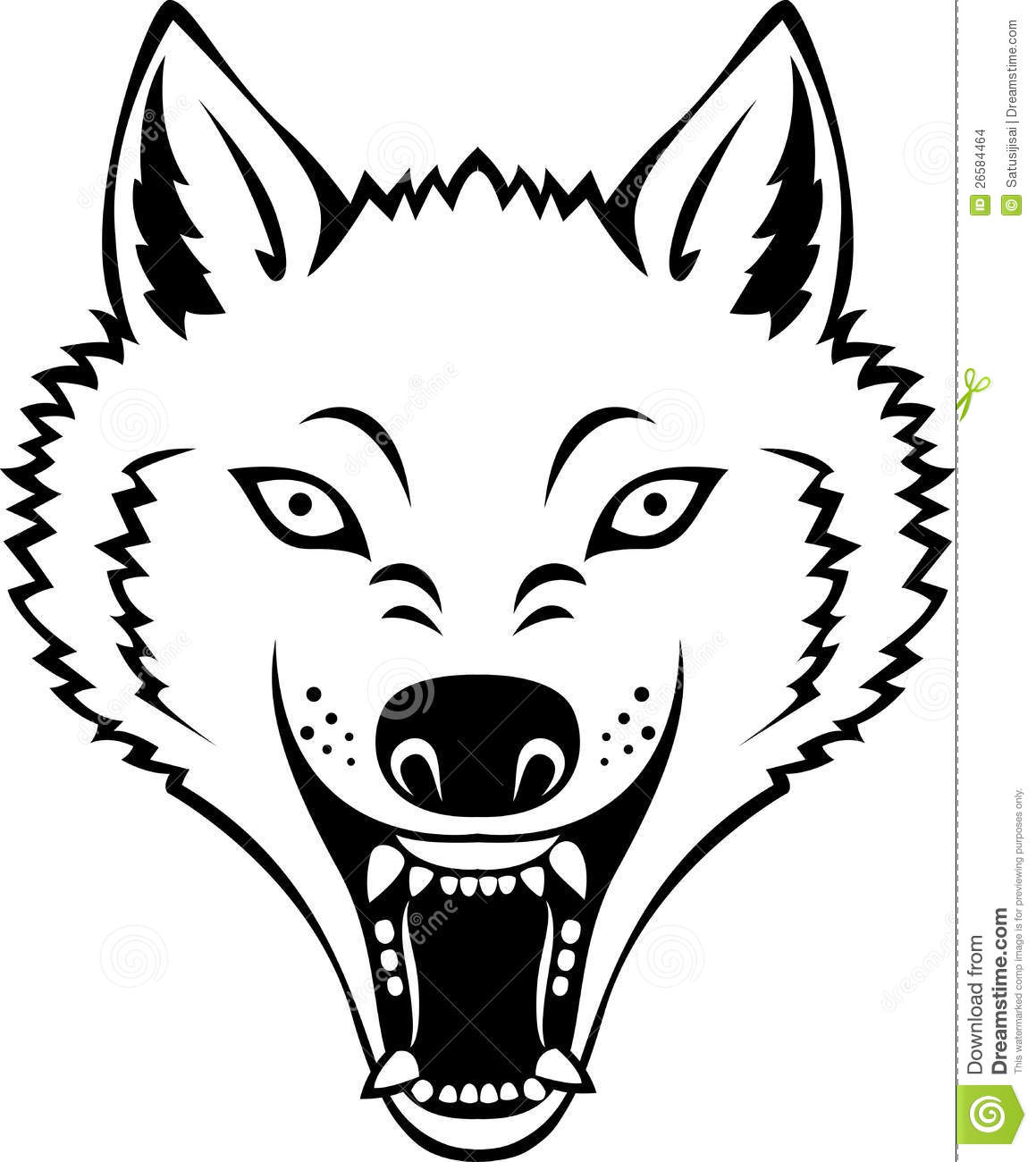 Coloring Pages Coyote Faces Cool