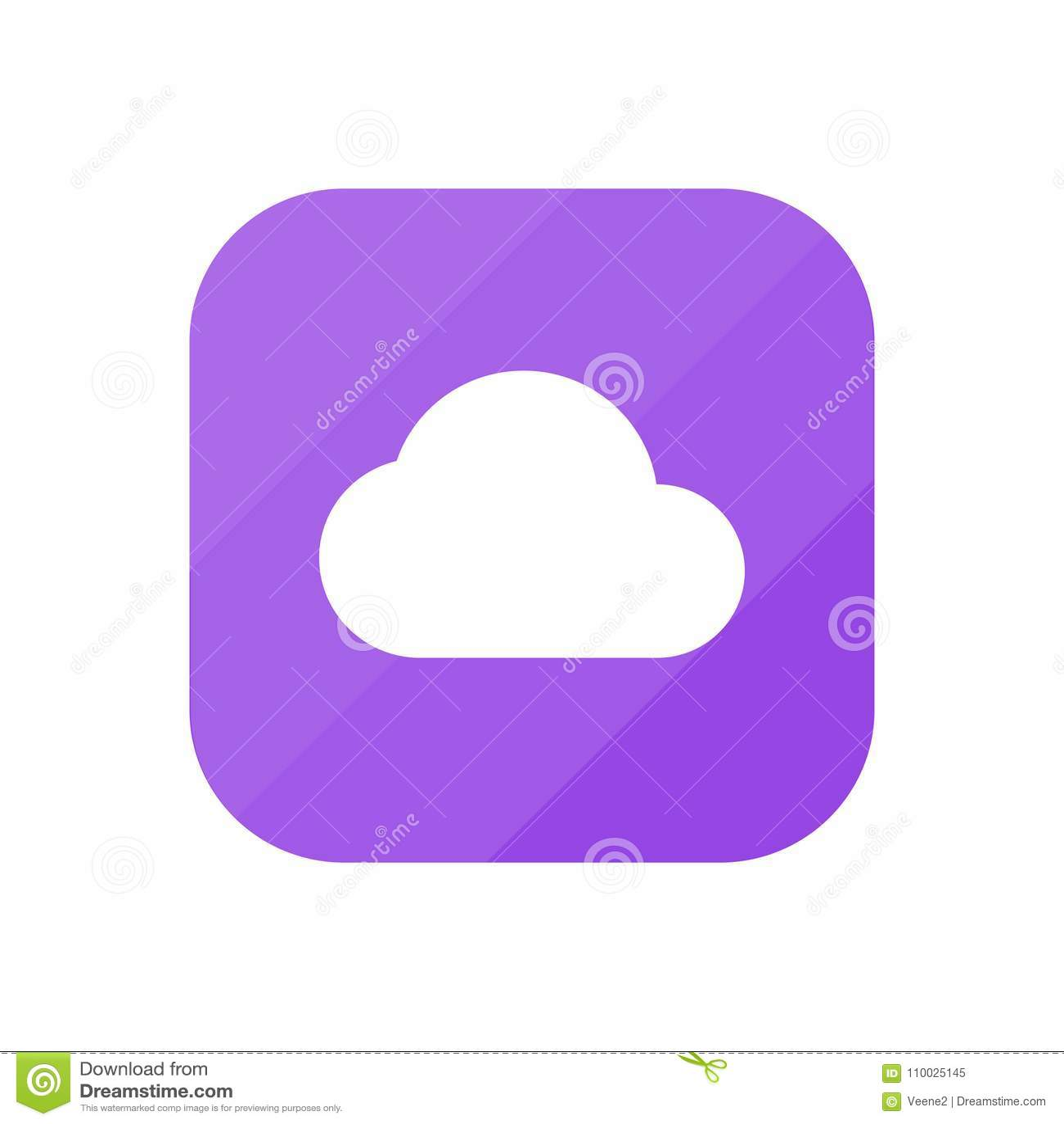 Wolk - App Pictogram