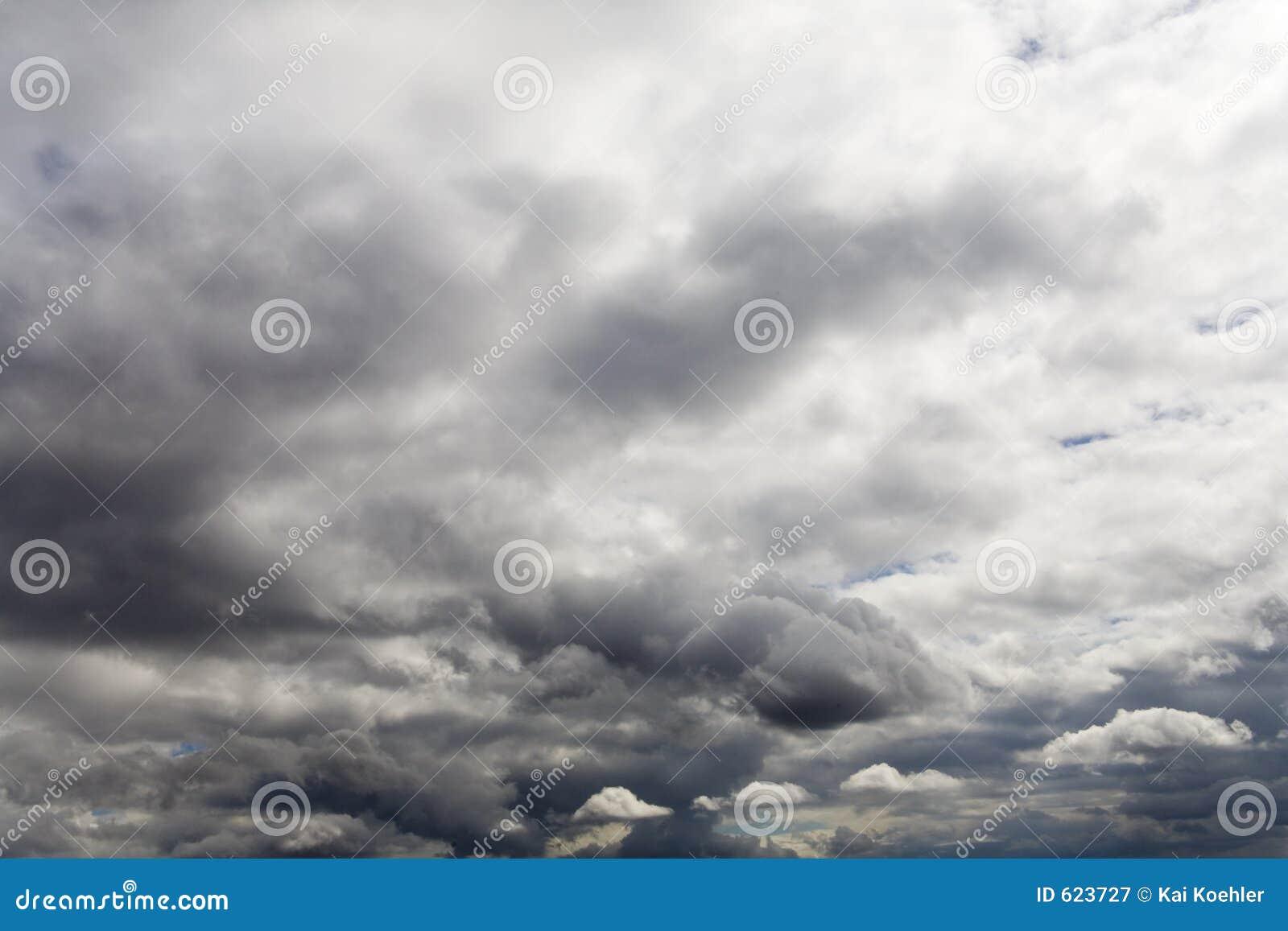 Wolken en hemel