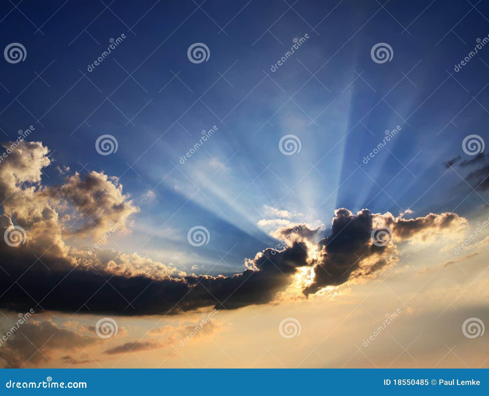 Wolken en Zonnestraal