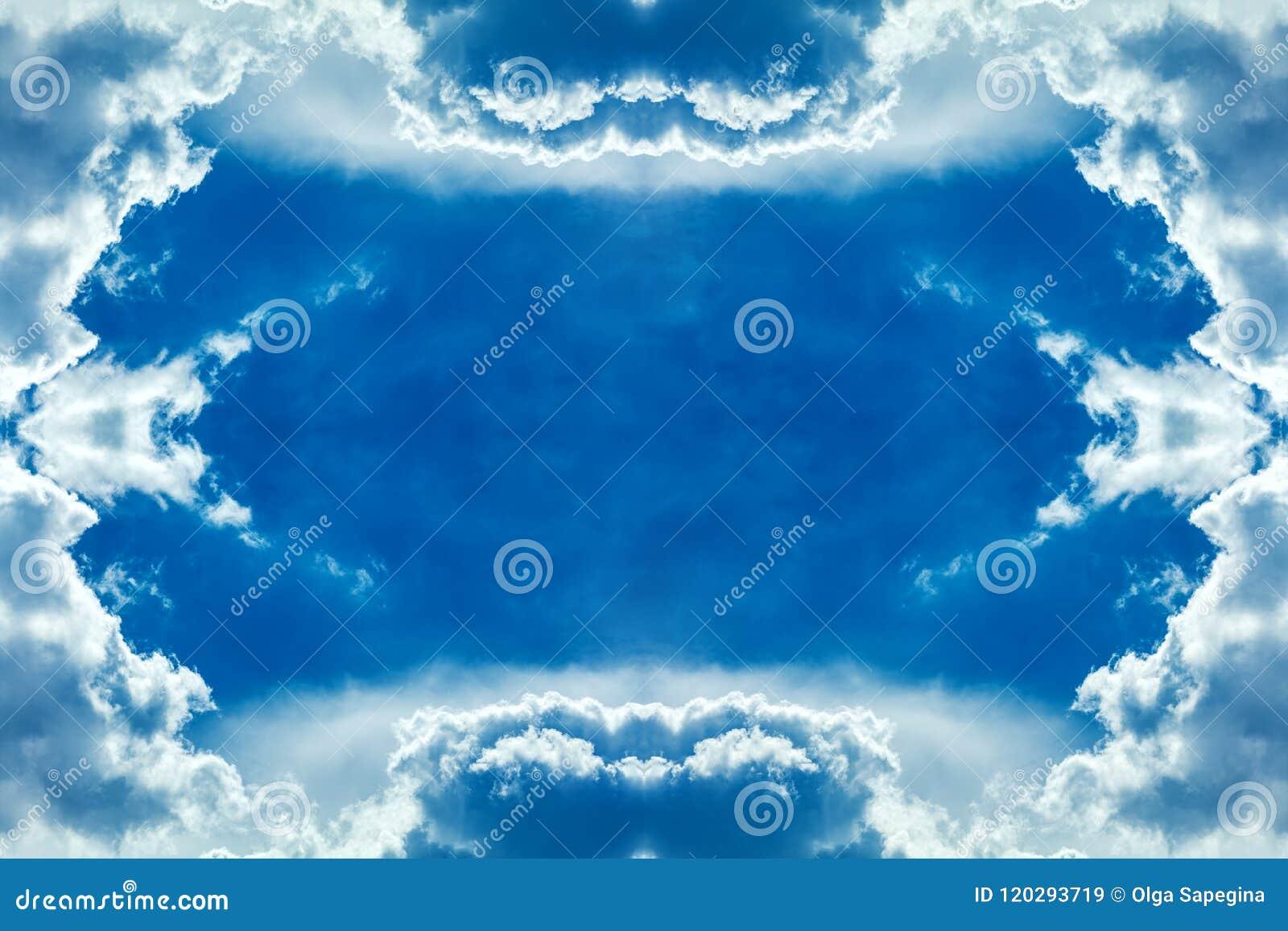Wolken gestalten im Himmel
