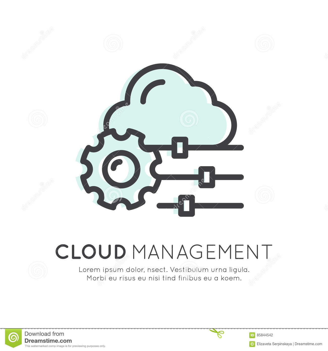 Wolken-Komputertechnologie-, Hosting-, Wolken-Management-, Datensicherheits-, Server-Speicher-, API-, Mobile-und Desktop-Gedächtn