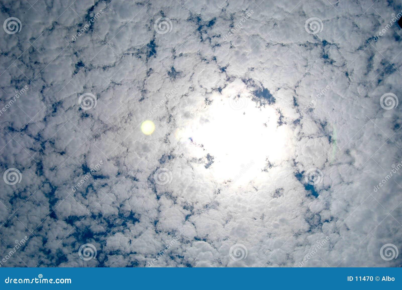 Wolkenanordnung