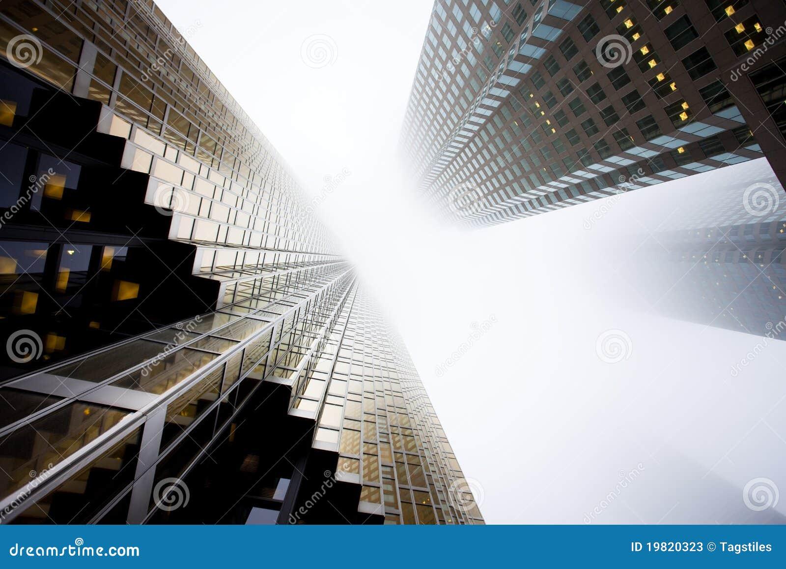 Download Wolkenkratzer stockbild. Bild von apocalypse, dunkel - 19820323