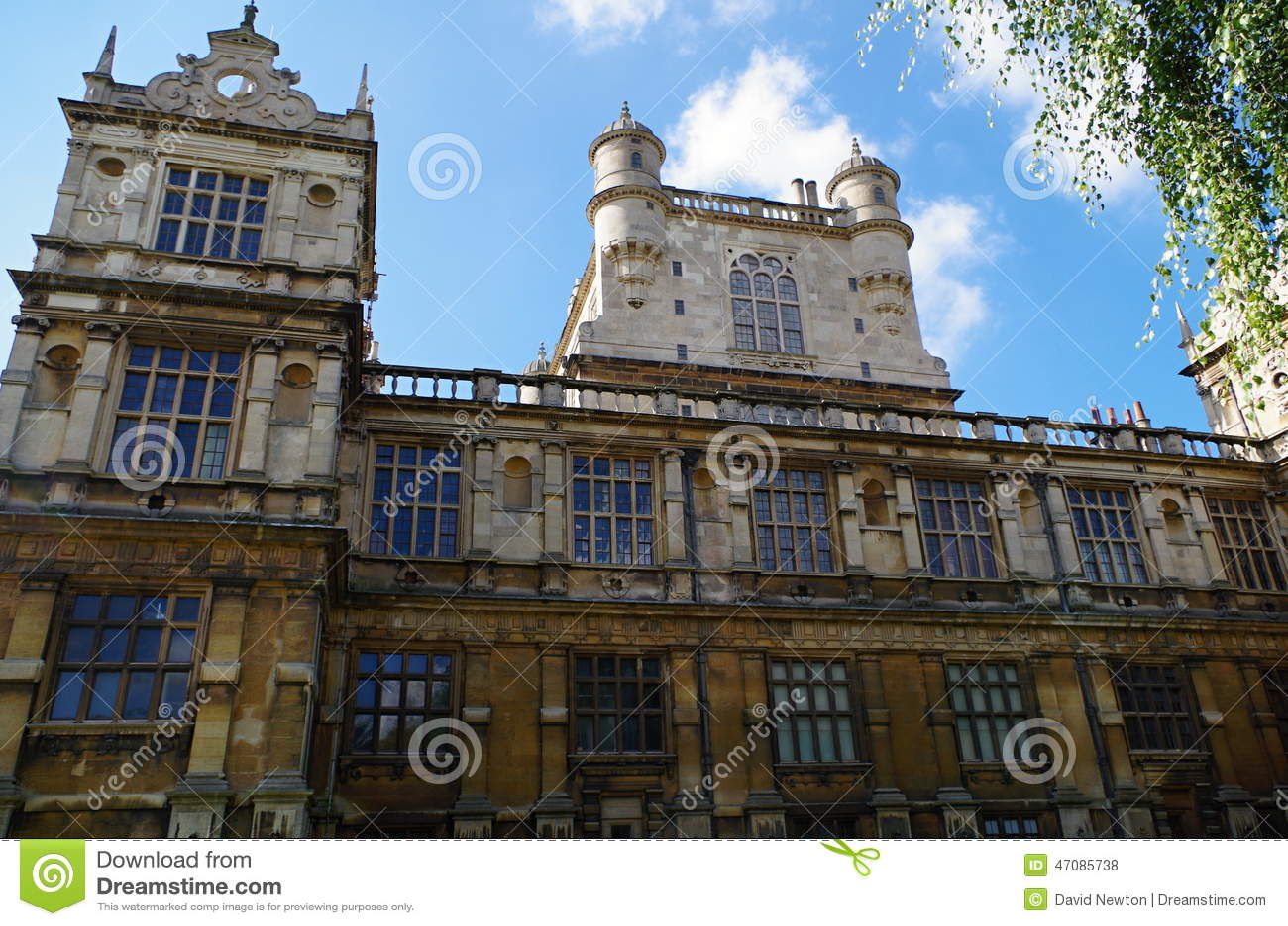 Wollaton Hall Nottingham Großbritannien