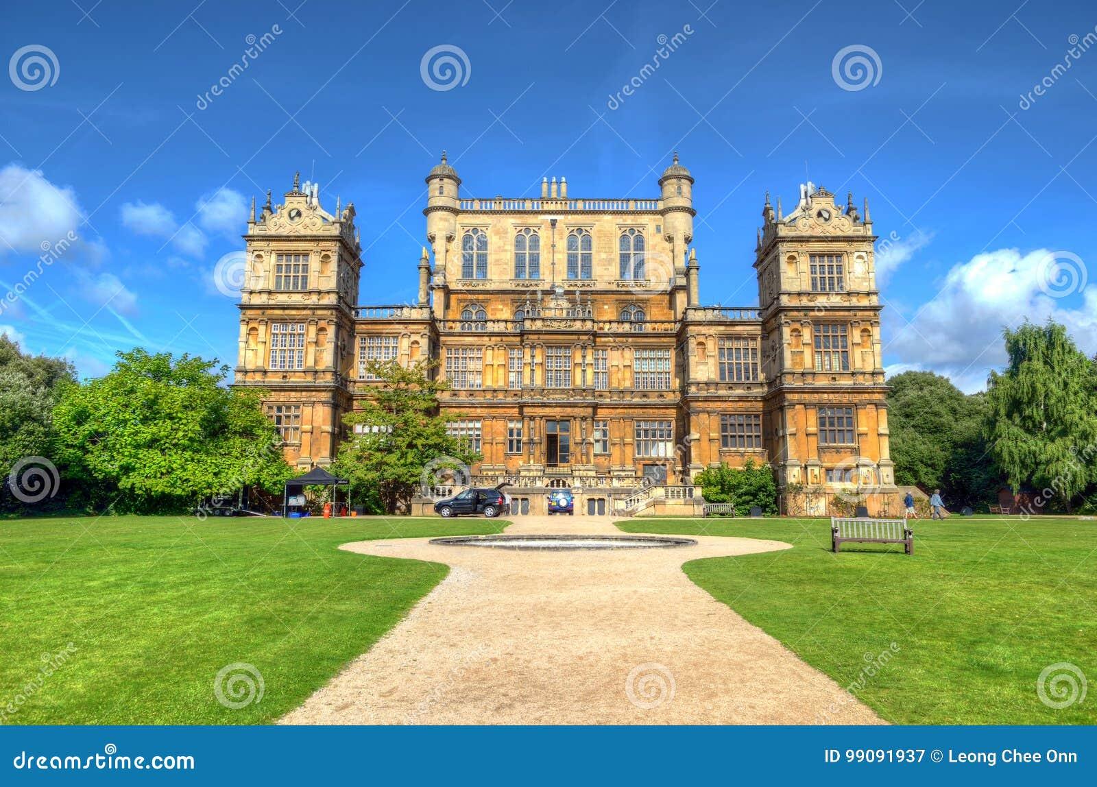 Wollaton Salão e parque Nottingham Nottingham, Reino Unido, Inglaterra