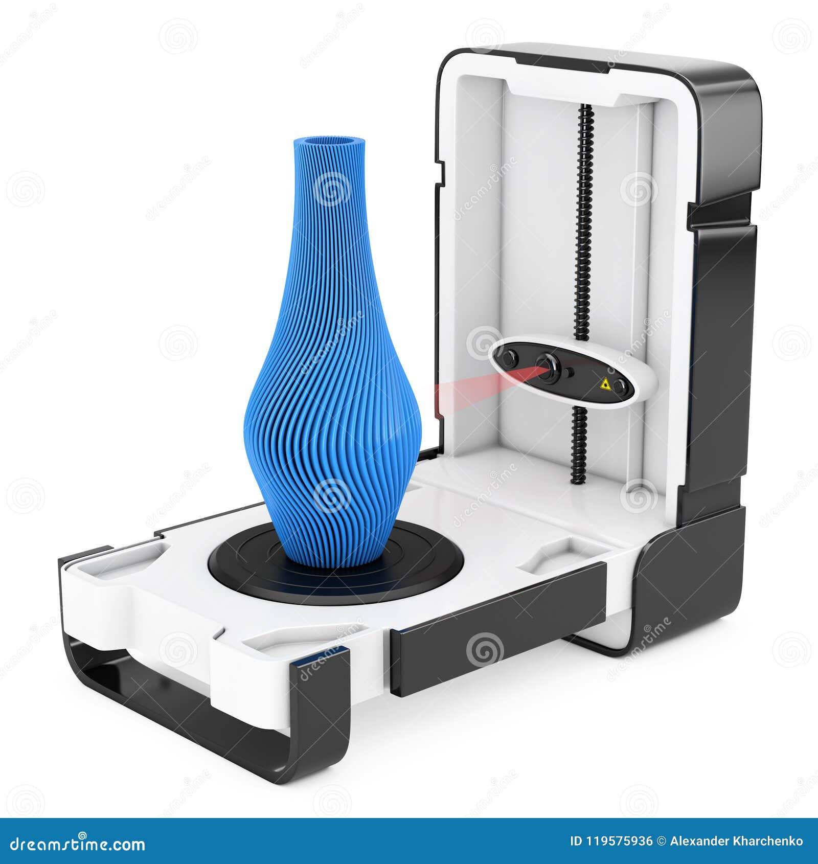 Wolno Stojący Nowożytny Desktop domu 3D przeszukiwacza skanerowania abstrakt M