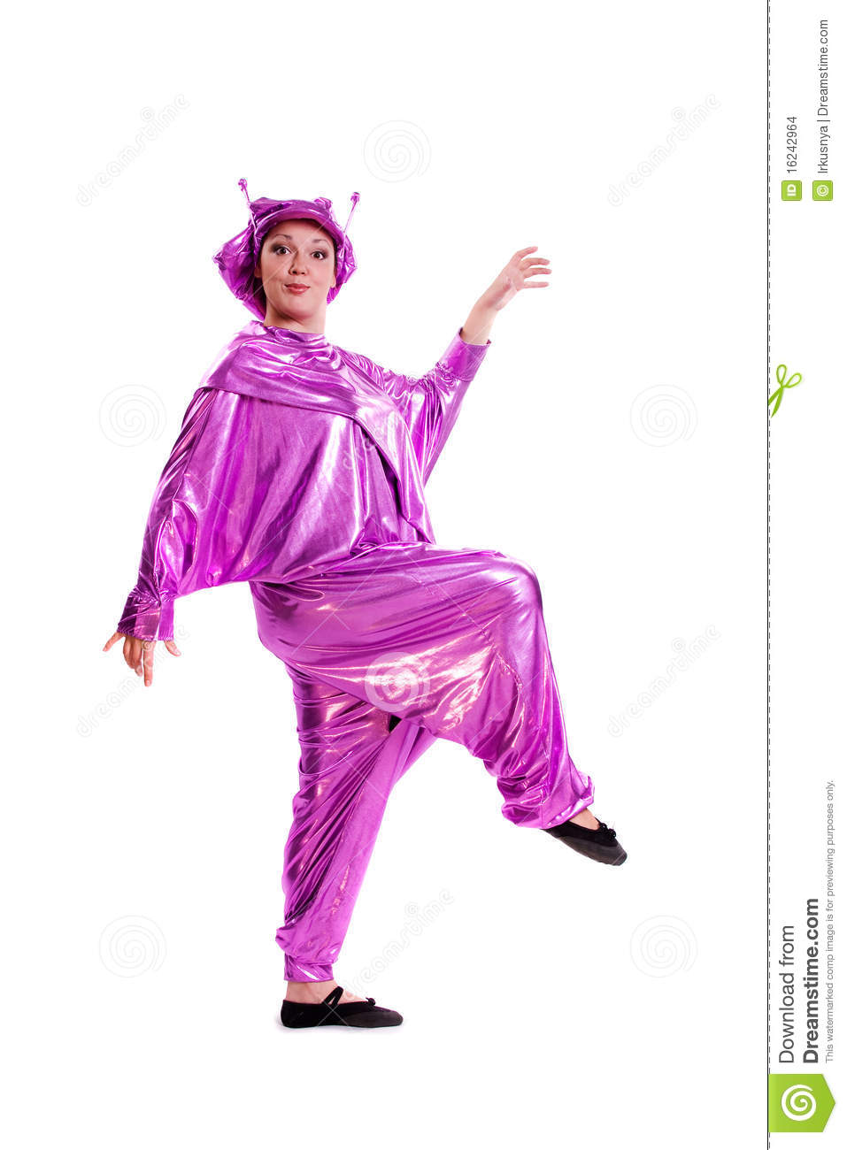 woman in alien costume stock images image 16242964
