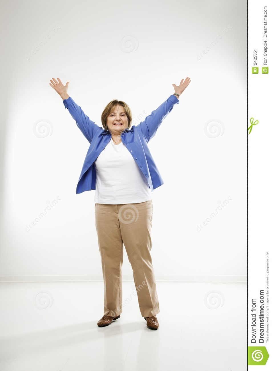 woman with arms outstretched stock image image of person cheer