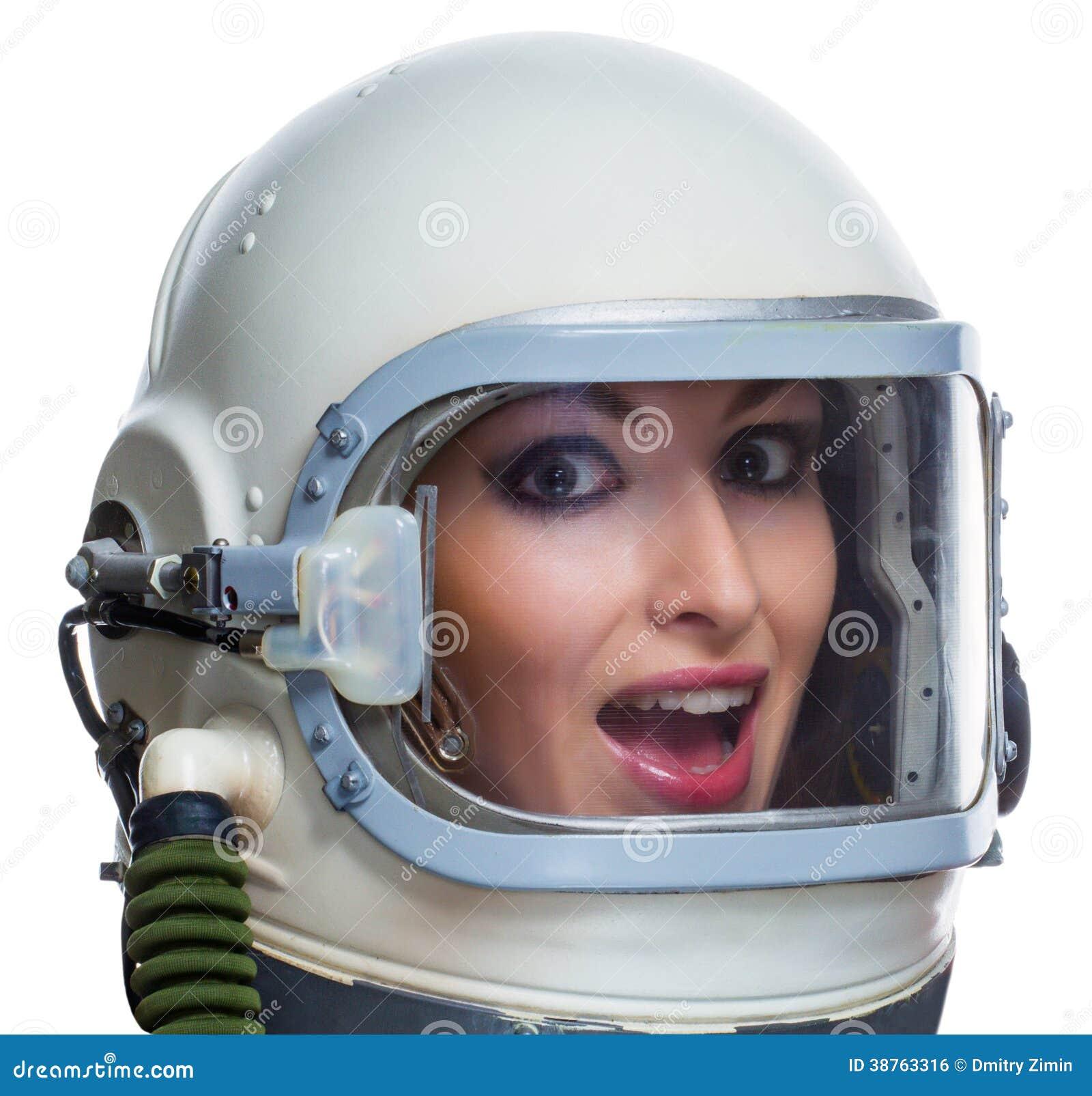 girl in astronaut helmet - photo #25