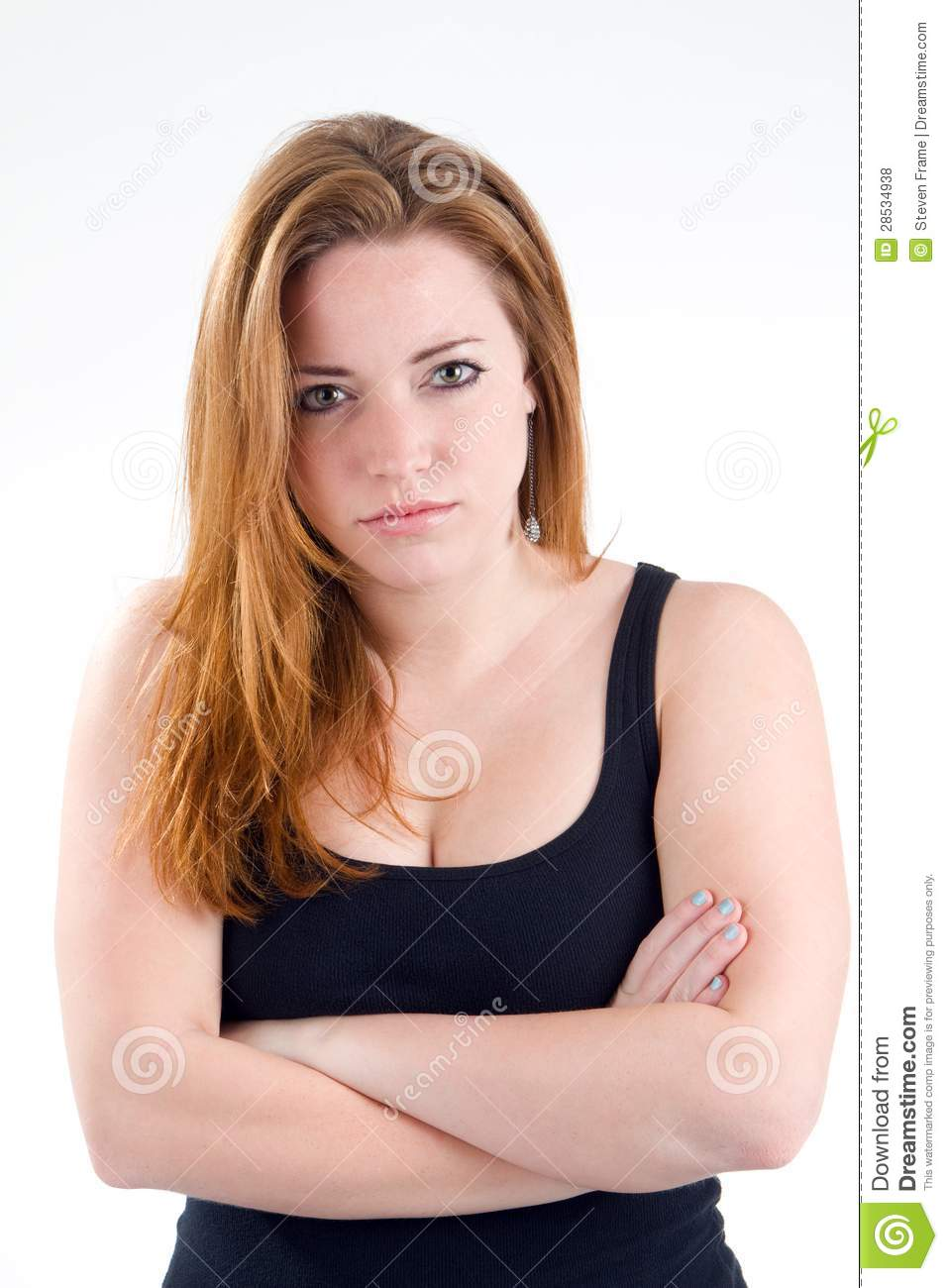 Woman Bad Attitude Royalty Free Stock Photos - Image: 28534938