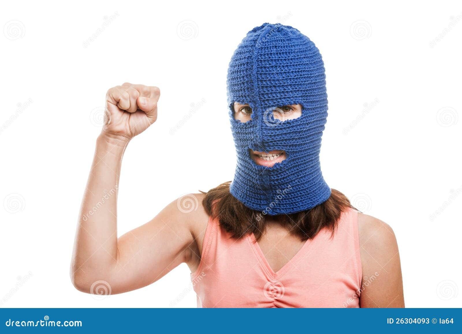 Womens raised fist